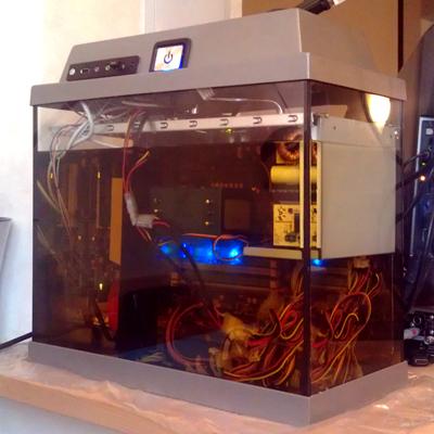 Компьютер в масле