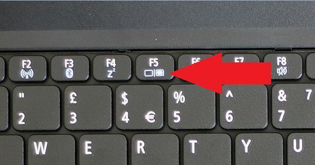 кнопки для включения экрана на ноутбуке